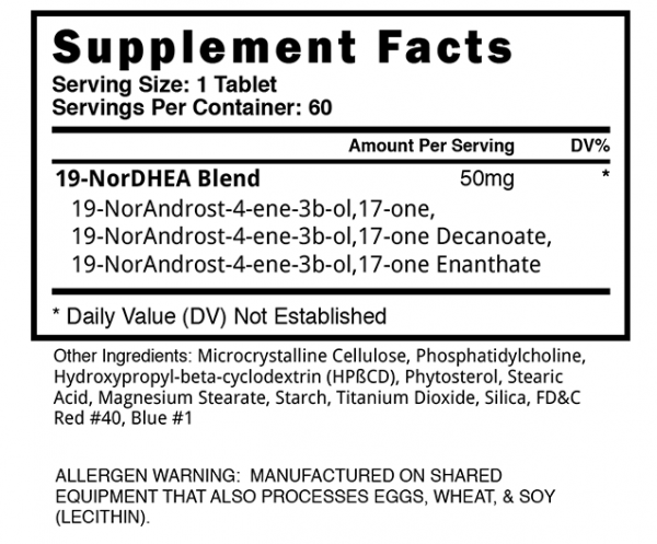 Supplement Facts Abnormal